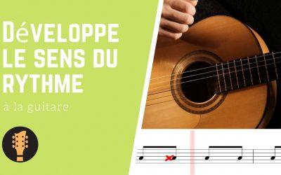 Développer le sens du rythme à la guitare
